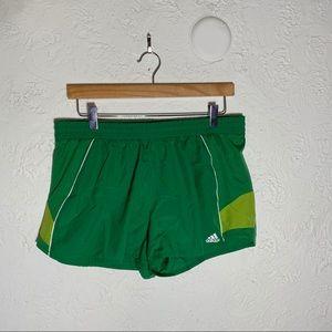 EUC adidas running shorts